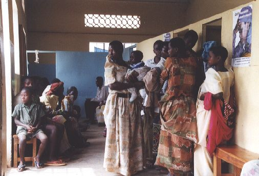 patients in the clinic